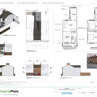 YPP387 - Existing property drawing - BH15