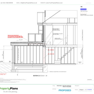 YPP346 - Proposed planning Drawing Bournemouth BH9