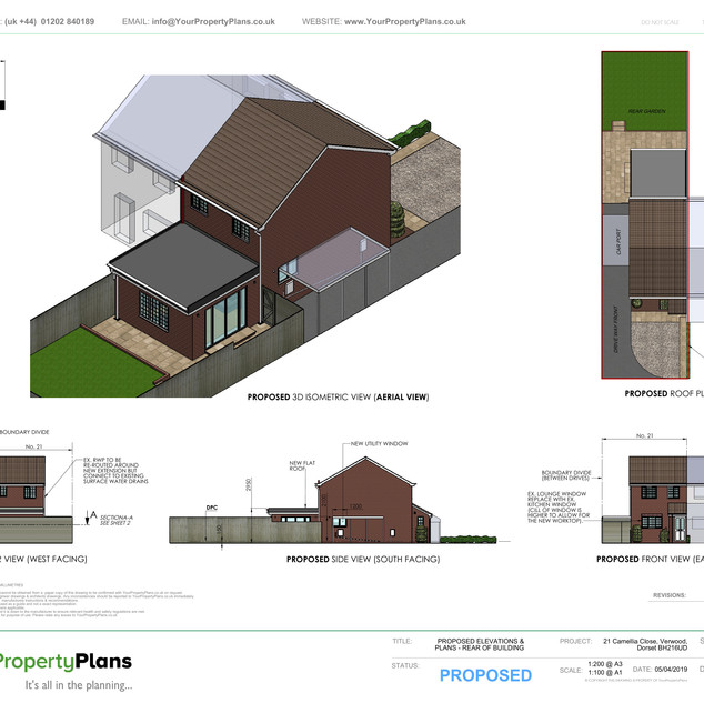 YPP357 - Proposed - Rear Extension - BH31