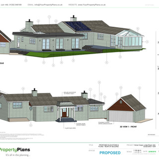 YPP360 - Proposed - 3D Views & finishes key BH21