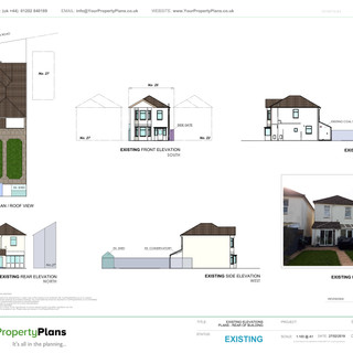YPP352 - Existing property drawing - BH9