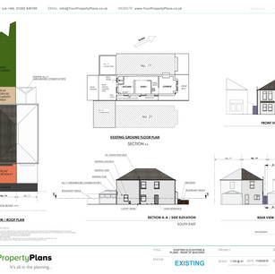 YPP350 - Existing property drawing - BH6