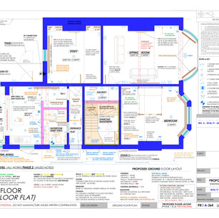 YPP364 - Proposed ground floor plumbing and electrics plan - BH14