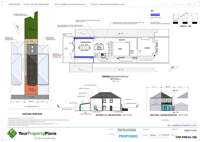 YPP350 - Fenton Road - Planning - PROPOS