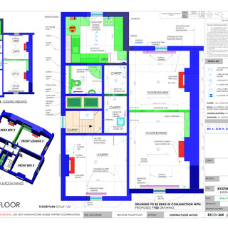 YPP364 - Existing second floor plumbing and electrics - BH14