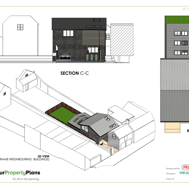 YPP347 - Proposed new build planning drawing - Woodstock OX20