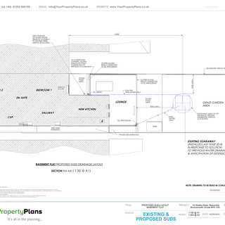 YPP361 - SUDs Plan - Suitainable Drainage - BH5