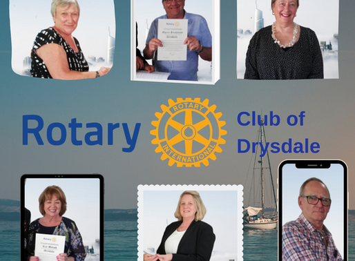 Welcome to Drysdale Rotary