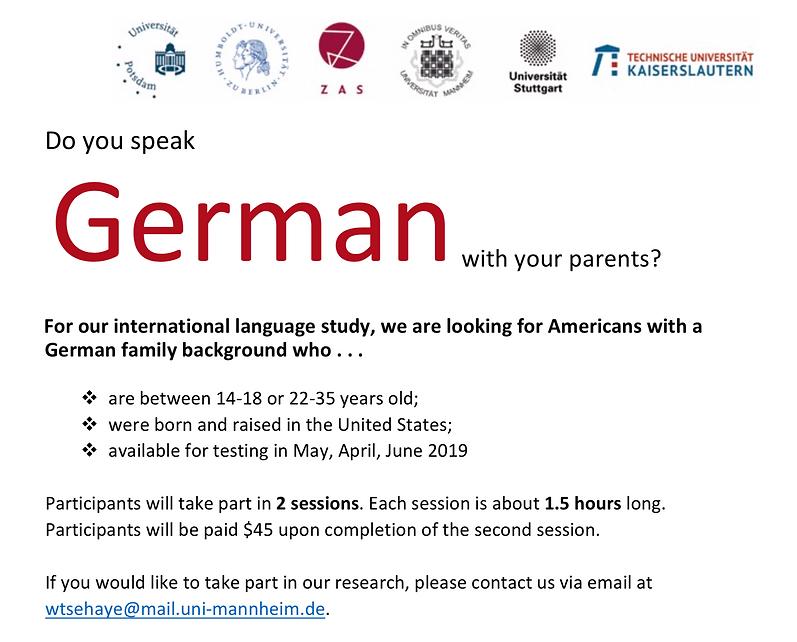 German study NYC