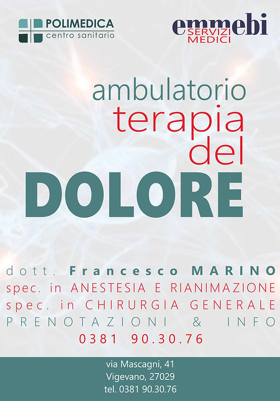 Ambulatorio di Terapia del Dolore