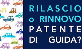 Rilascio e rinnovo Patente d Guida
