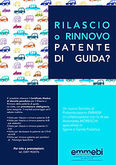 Patente guida: rilascio o rinnovo