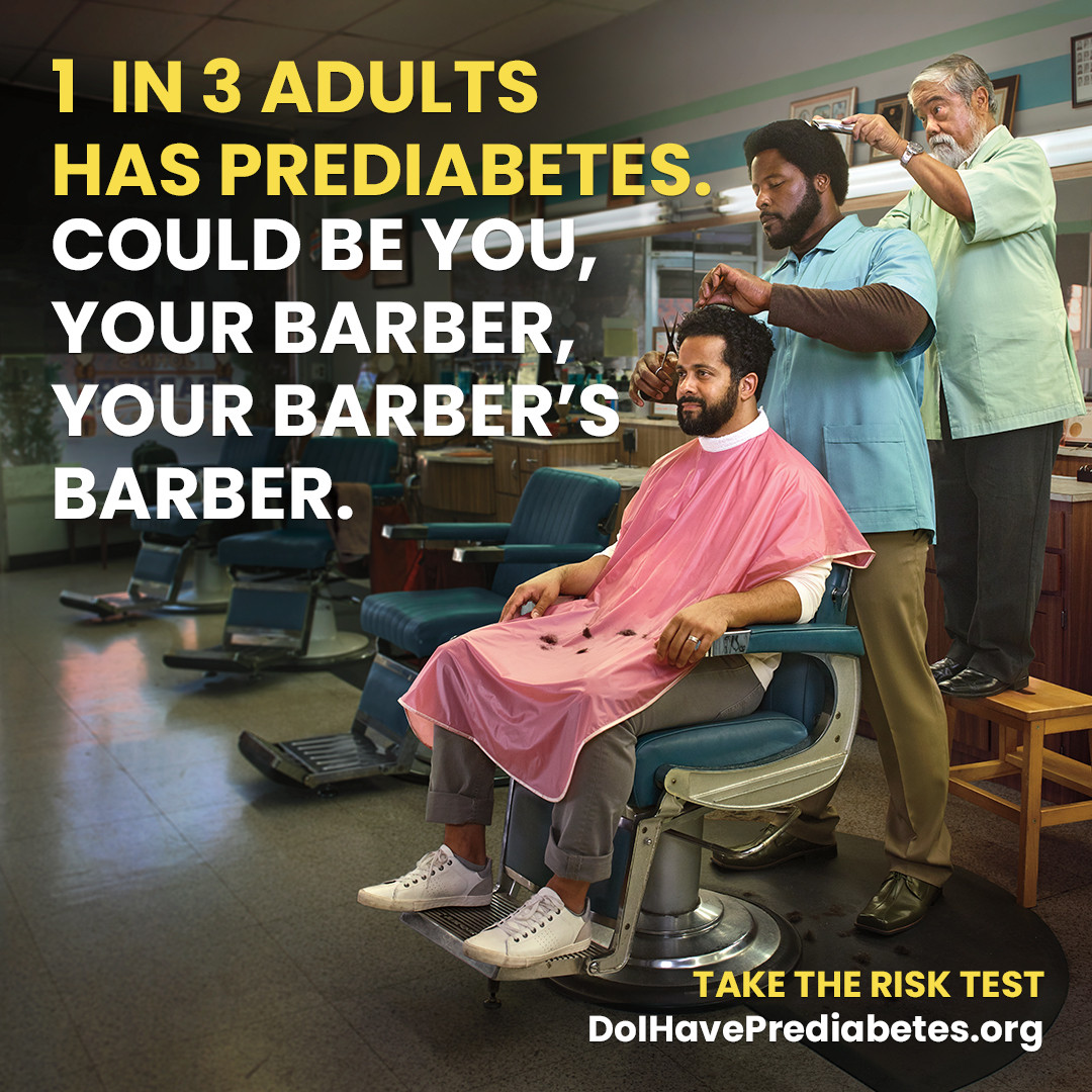 Could be you, your barber, your barber's barber.