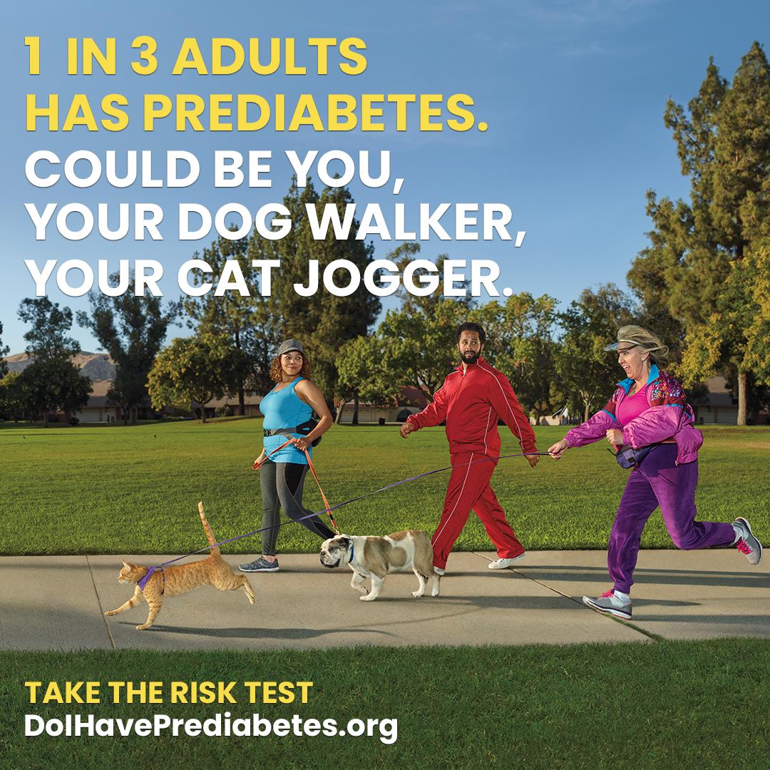 1 in 3 Adults has diabetes