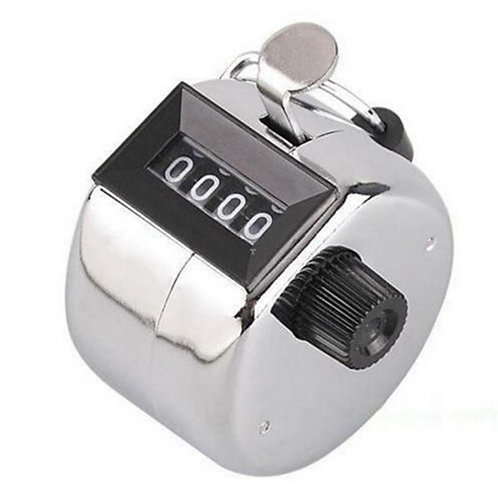 4 Digit Number Hand Tally Click Counter