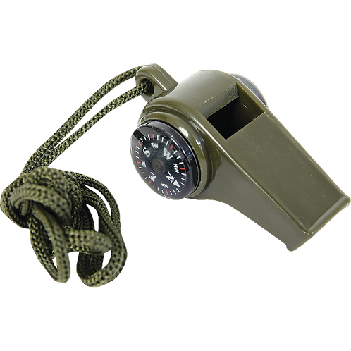 WHISTLE - Button Compass Thermometer
