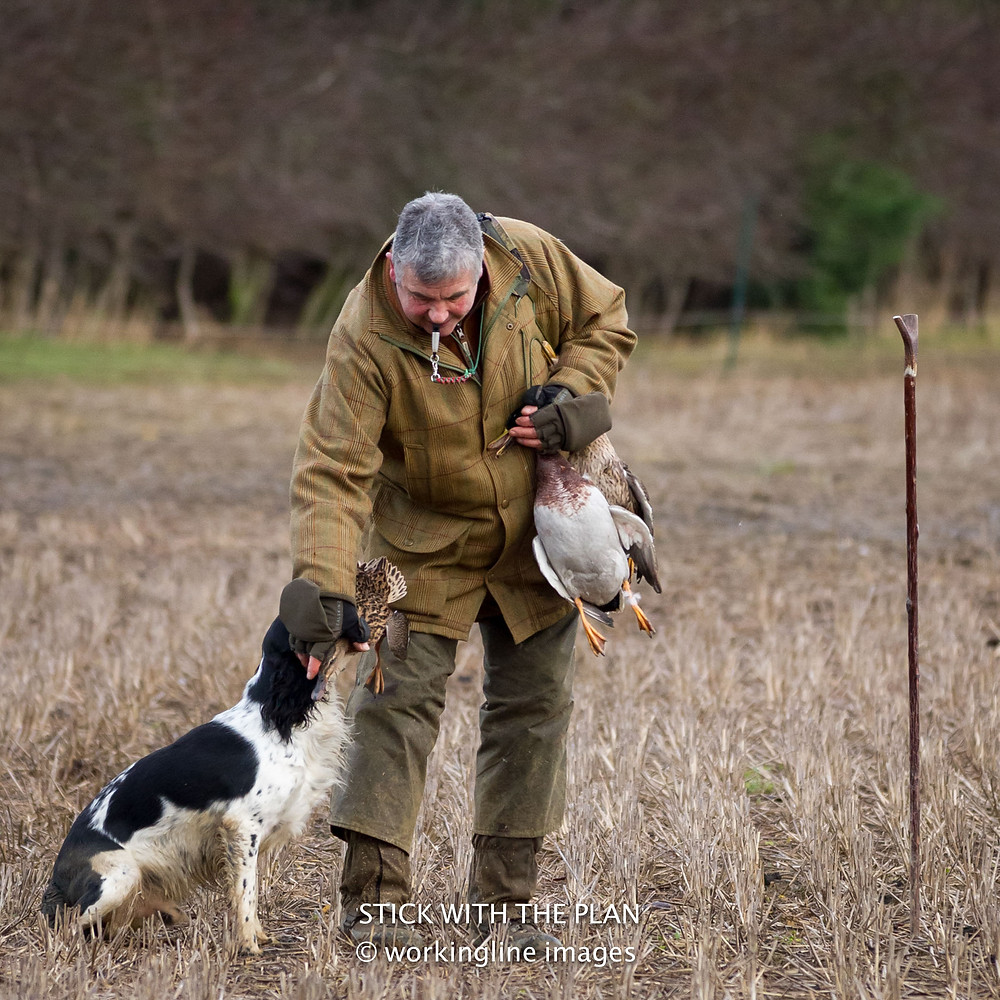 """the sense of pride when your dog delivers that first retrieve to hand on it's first shoot"""