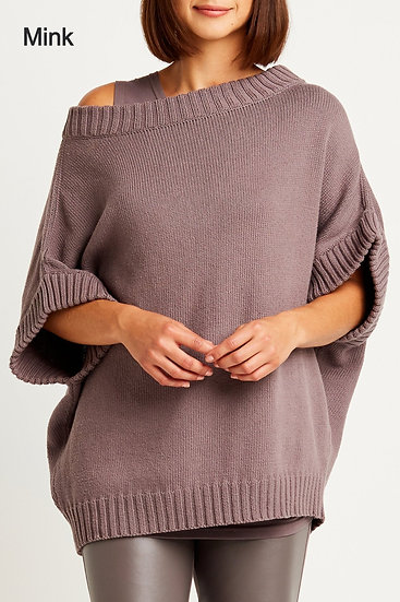 PLANET Pima Cotton Chunky Pullover Sweater