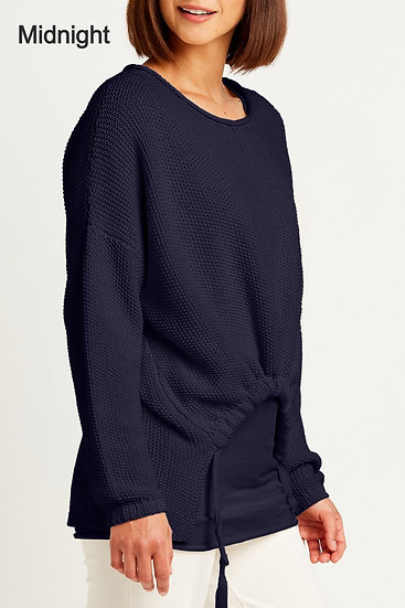 PLANET Pima Cotton Bungee Crew Neck Sweater