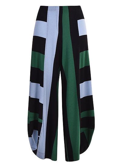 Alembika - Wide Stripe Punto Pant