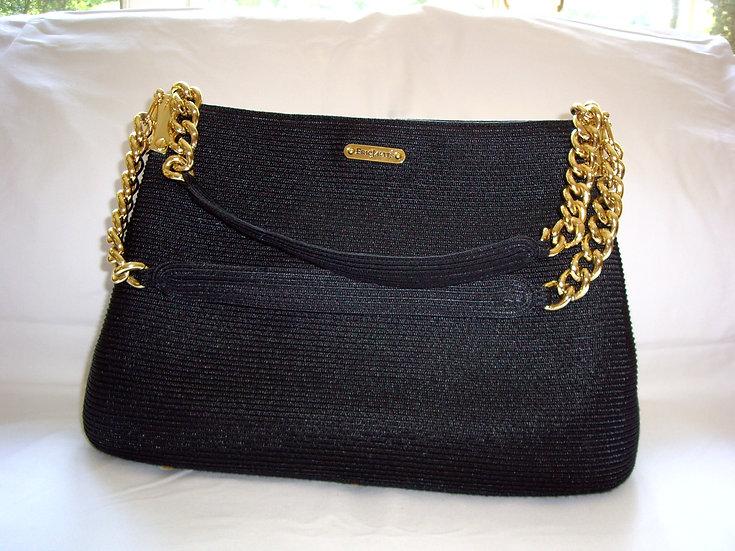 Eric Javits Squishee Luv Blk Handbag