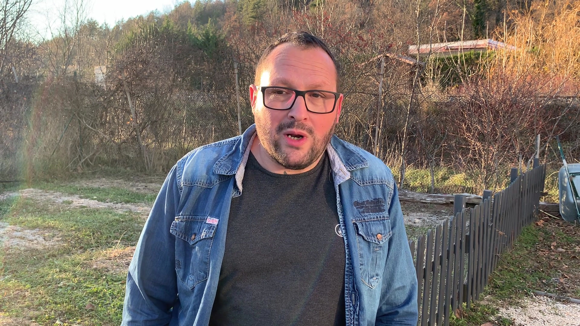 Sébastien, commerçant de Gap, habitant d'Aspres sur Buech