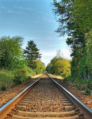Voie ferré. Hautes-Alpes. Mobilité. Train. Nature. Rail