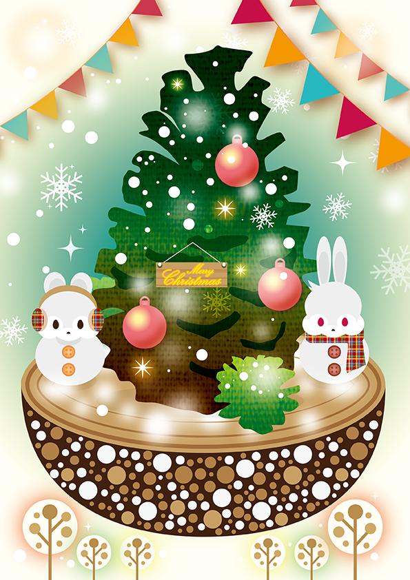 とある森のクリスマスツリー