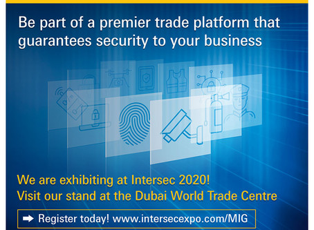 INTERSEC 2020 IN DUBAI