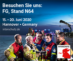 Messe INTERSCHUTZ, 15.-20. Juni 2020