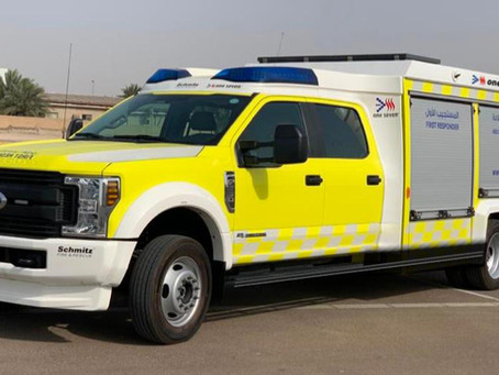 NEW RAPID INTERVENTION VEHICLE FOR ABU DHABI