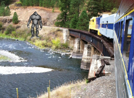 Join us from Blue Mountain Bigfoot Research on this train ride!