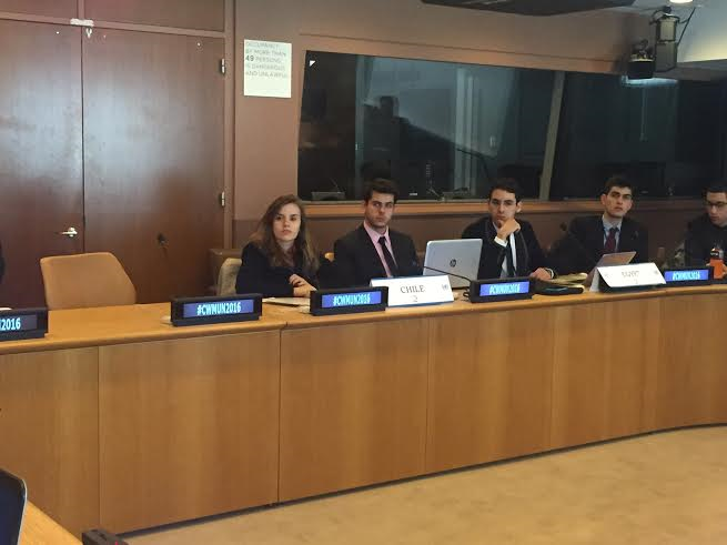 Committe Section 2016 CWMUN