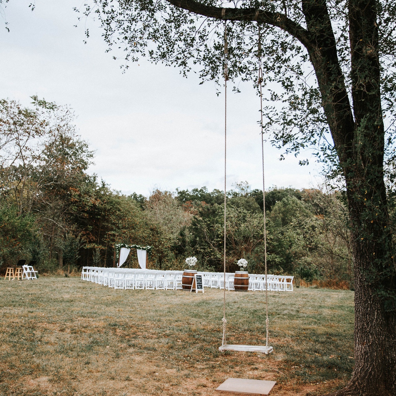 Outside Ceremony at 48 Fields