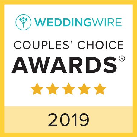 2019 Couples Choice Award Winners!