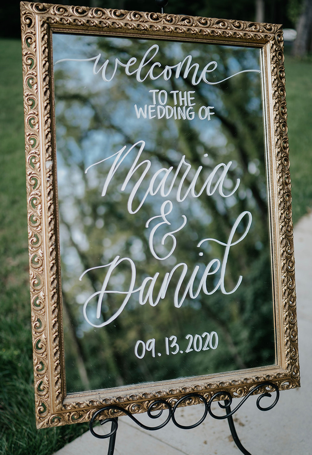 Molly Majher Photography| Welcome Sign | WDBT Events