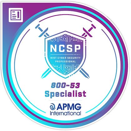 NCSP® Specialist 800-53 Bundle + Exam Voucher