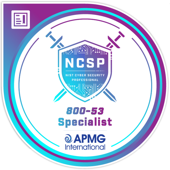 AMERICAS: 5-Day NCSP® 800-53 Specialist