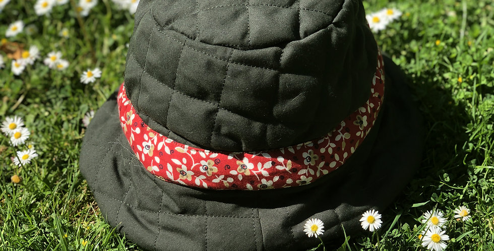 Summer's End Bucket Hat / Olive Green