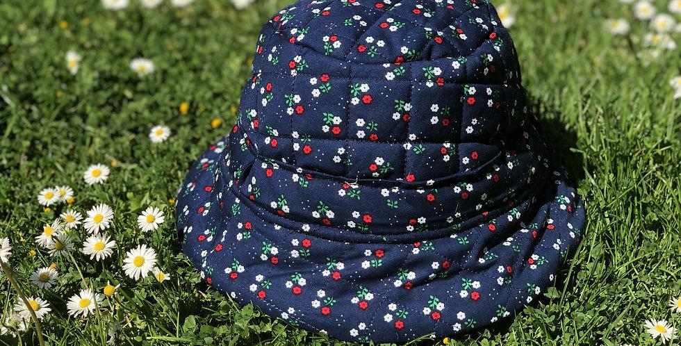 Summer's End Bucket Hat /Nightsky Navy