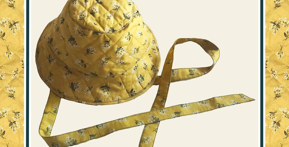 Summer's End Bucket Hat / Daffodil Yellow