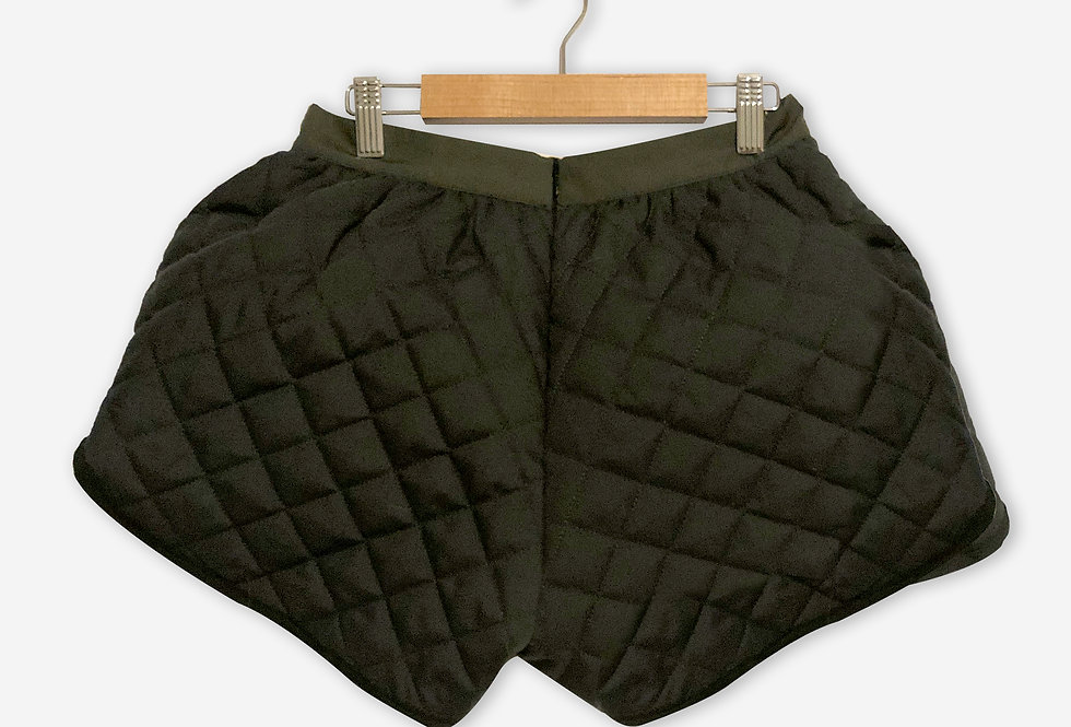 Laura B. Shorts / Olive Green