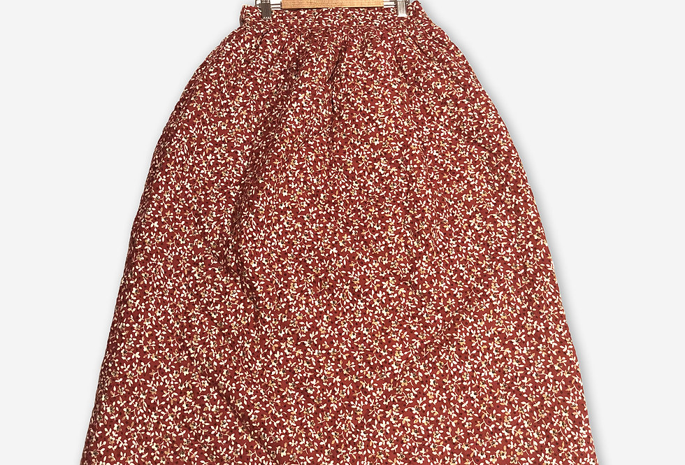 Cousin Ben Skirt / Poppy Red