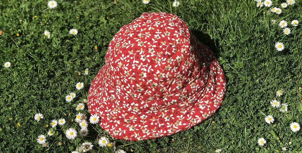 Summer's End Bucket Hat / Poppy Red