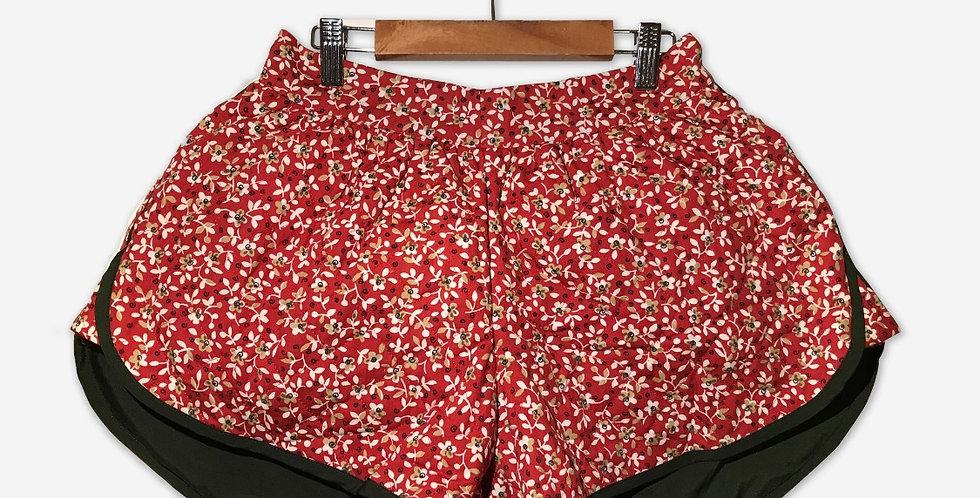 Laura B. Shorts / Poppy Red