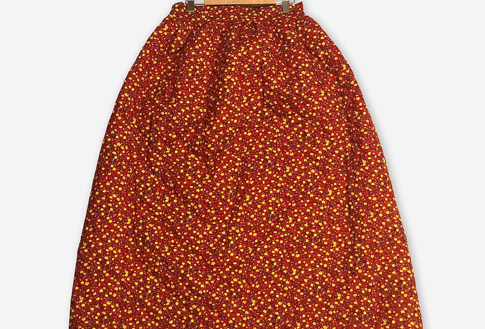 Cousin Ben Skirt / Sunflower Red