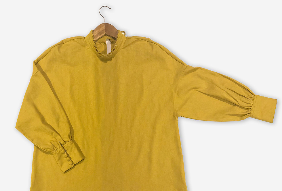 Camp Ivanhoe Blouse / Pansy Yellow