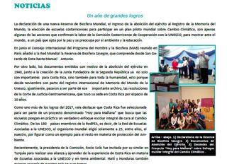 Boletín Nuevos Horizontes CCCU IV-2017