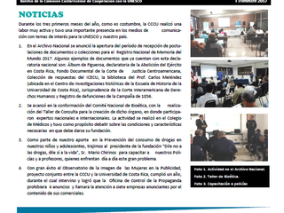 Boletín Nuevos Horizones CCCU I-2017