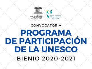 CCCU abre recepción de proyectos al Programa de Participación de la UNESCO 2020-2021